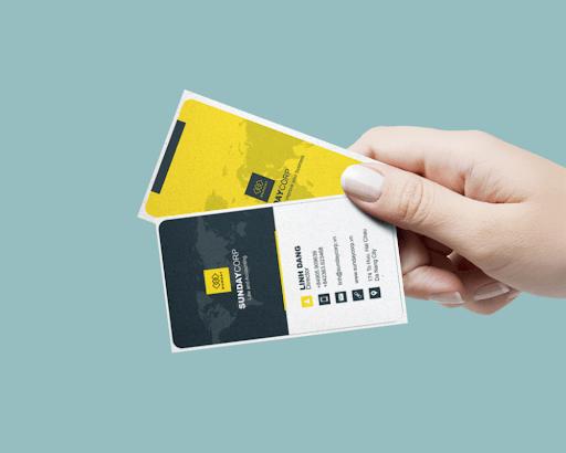 Lợi ích từ một thiết kế namecard chuyên nghiệp – Hon Ngoc Viet