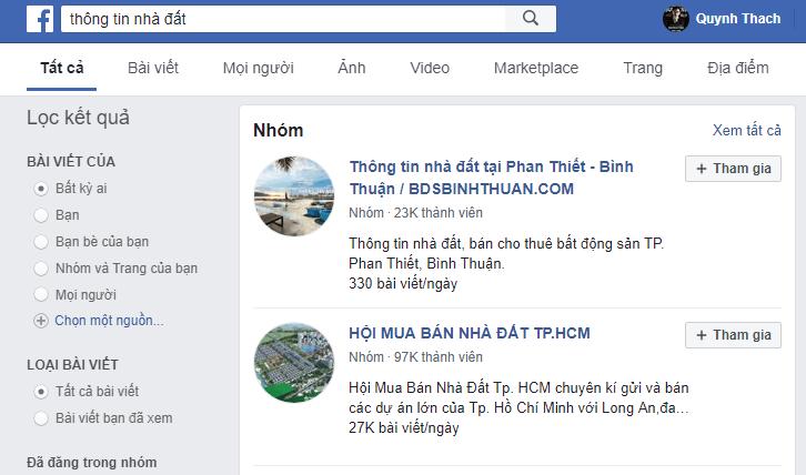 Seo Fanpage facebook lên top tìm kiếm