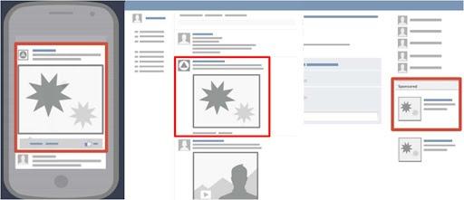 Lựa chọn vị trí Quảng cáo Facebook