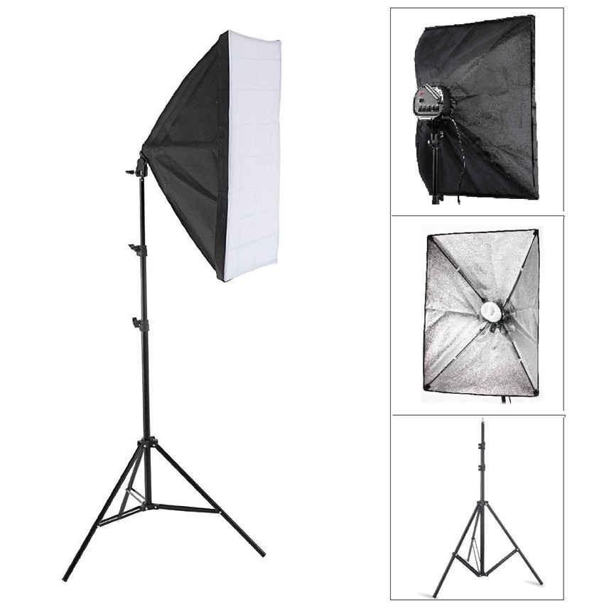 Selens E27 Socket Studio Light Softbox Umbrella Light Lamp 50x70cm | Shopee Philippines