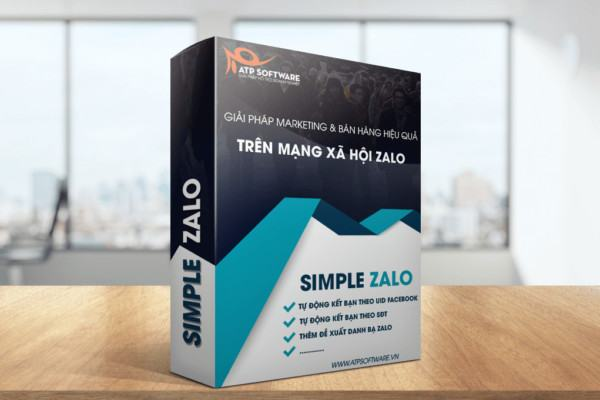 Simple Zalo- Phần Mềm Zalo Marketing- Kết Bạn Zalo - Nhắn Tin Auto Zalo