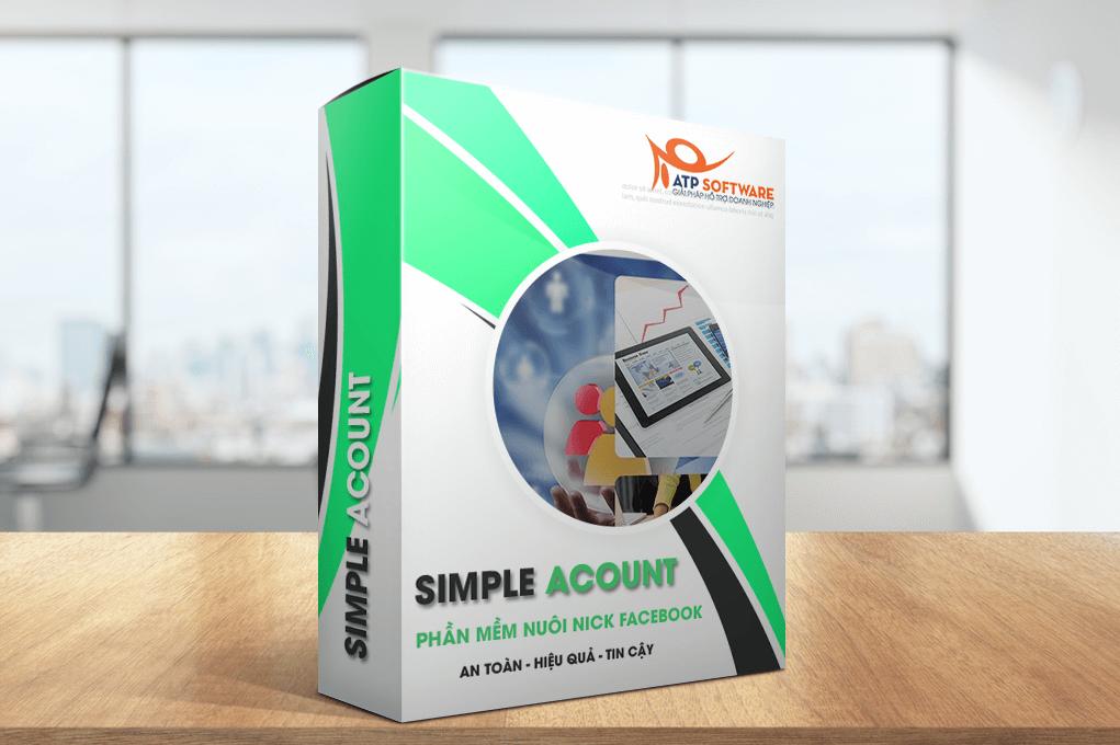 Simple Account - Phần mềm nuôi nick Facebook tương tác tự động - ATP Software