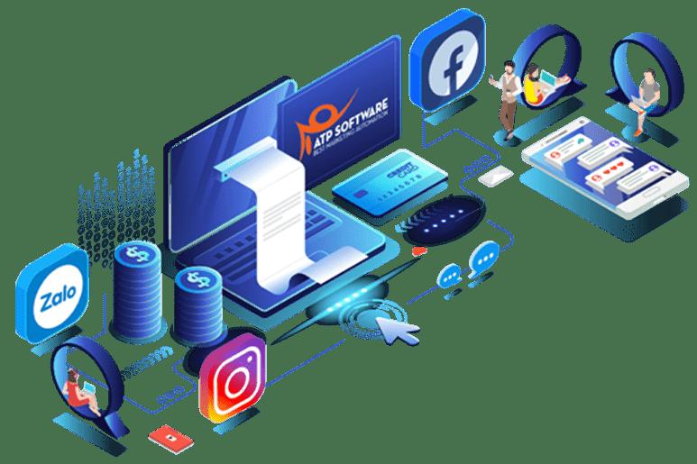 Phần mềm ATP Software - Giải Pháp Marketing Đa Kênh