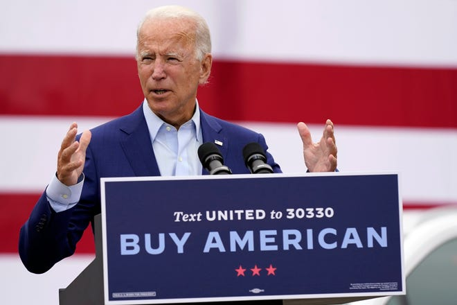 Biden touts jobs plan, hits Trump for 'life and death betrayal' on COVID-19